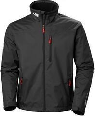 Helly Hansen Crew Vitorlás kabát Fekete XL