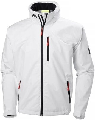 Helly Hansen Crew Hooded Sailing Jacket White S