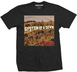 System of a Down Toxicity Mens Blk T Shirt: M
