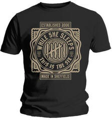 While She Sleeps This Is The Six Mens T Shirt: M