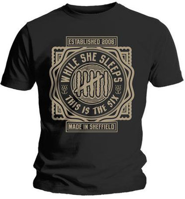 While She Sleeps This Is The Six Mens T-Shirt S