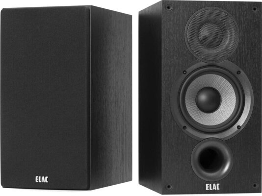 Elac Debut B5.2 Black Brushed Vinyl