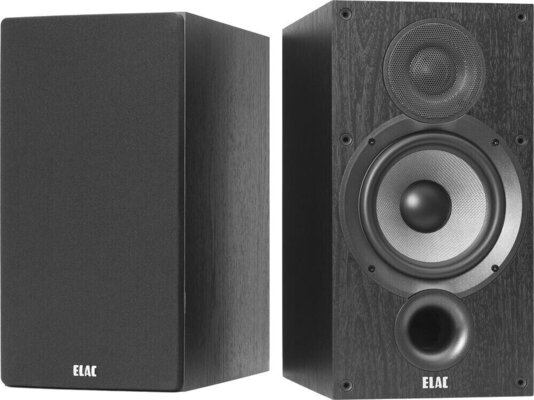 Elac Debut B6.2 Black Brushed Vinyl