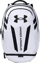Under Armour Hustle 5.0 Backpack White/Black/Black