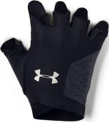 Under Armour Training Womens Gloves Black/Silver M