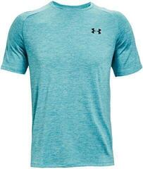 Under Armour Tech 2.0 Mens Short Sleeve Cosmos/Black XL