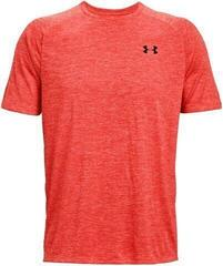 Under Armour Tech 2.0 Mens Short Sleeve Venom Red/Black XL