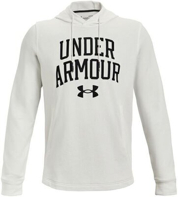 Under Armour Rival Terry Collegiate Mens Onyx White/Black M