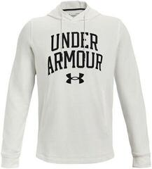 Under Armour Rival Terry Collegiate Mens Onyx White/Black XL