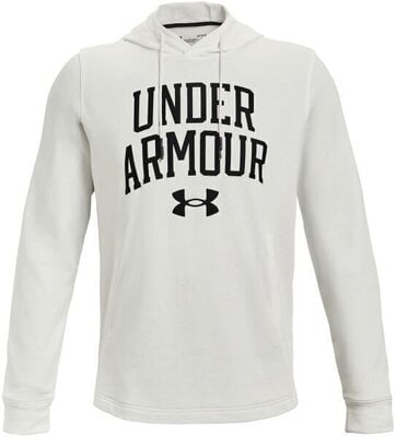 Under Armour Rival Terry Collegiate Mens Onyx White/Black 2XL