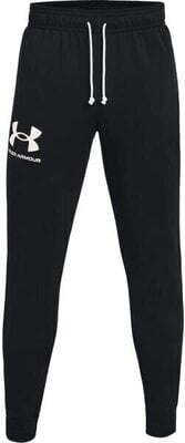 Under Armour Rival Terry Jogger Mens Black/Onyx White 2XL