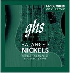 GHS Short Scale Balanced Nickels - Medium 44-106