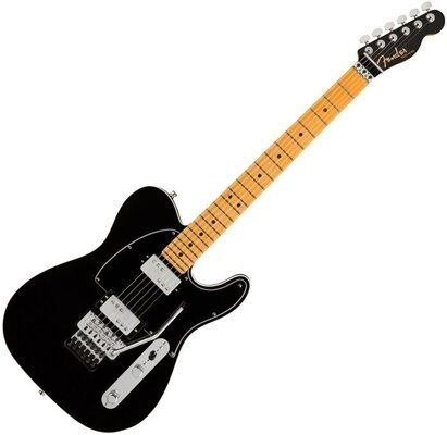 Fender American Ultra Luxe Telecaster FR HH MN Mystic Black