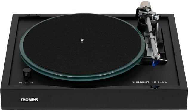 Thorens TD 148 A Black Gloss