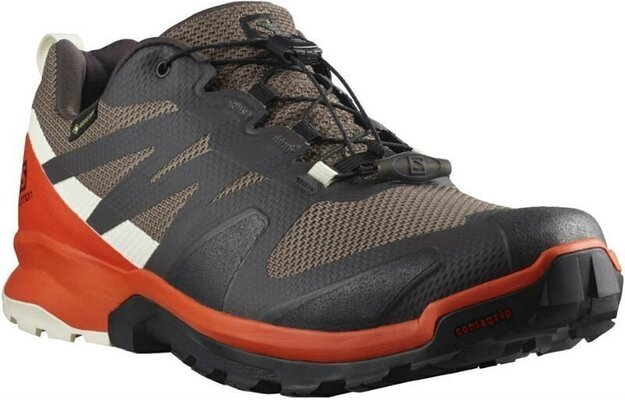 Salomon XA Rogg GTX Peppercorn/Cherry To/Vanilla 11,5 UK