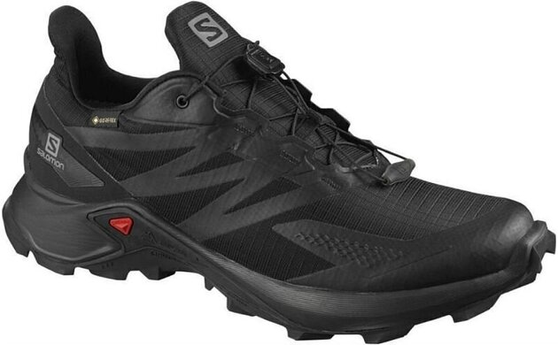 Salomon Supercross Blast GTX Black/Black/Black 12 UK