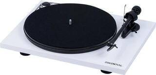 Pro-Ject Essential III Phono OM 10 High Gloss White