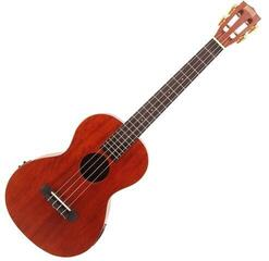 Mahalo Electric-Acoustic Baritone Ukulele Trans Brown