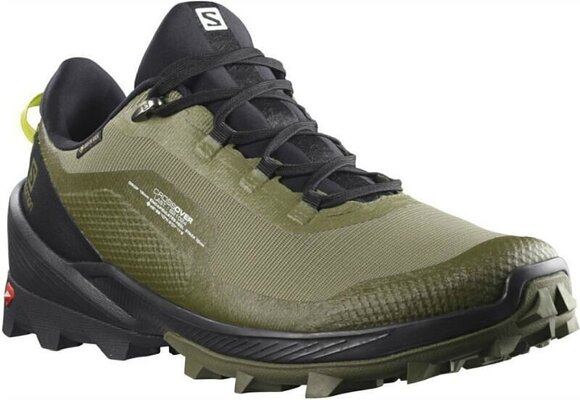 Salomon Cross Over GTX Deep Lichen Green/Black/Evening Primrose 10,5 UK