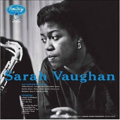 Sarah Vaughan Sarah Vaughan (Accoustic Sounds) (Vinyl LP)