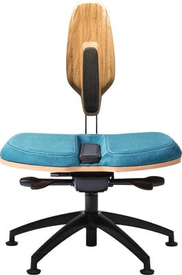 Neseda Premium Office chair Oak Turquoise