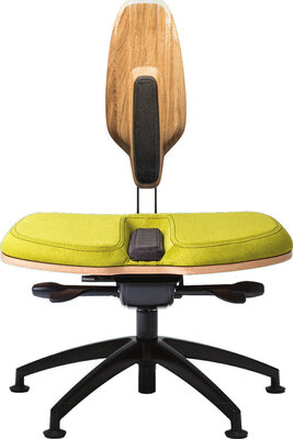 Neseda Premium Office chair Oak Green