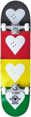 Heart Supply Logo Skateboard Complete 8,25'' Quad