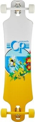 Ocean Pacific Drop Through 39'' Longboard Complete White