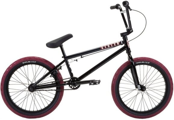 Stolen Casino BMX 20'' Black/Blood Red 2021