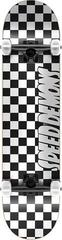 Speed Demons Checkers Skateboard Complete 8'' Checkers