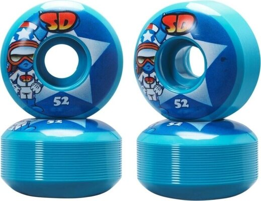 Speed Demons Characters 52mm Wheels Star