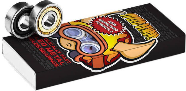Speed Demons ABEC-5 Bearings 8 Pieces Hot Shot