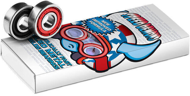 Speed Demons ABEC-5 Bearings 8 Pieces Stars