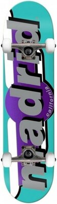 Madrid Complete Skateboard 7,25'' Teal
