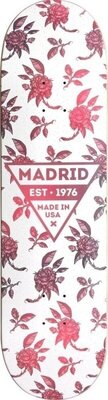Madrid Skateboard Deck 8'' Rosa