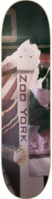 Zoo York OG Mixtape Skateboard Deck 8'' Bank Gothic