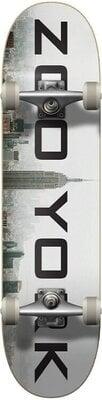 Zoo York Logo Block Skateboard Complete 7,75'' Fog