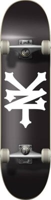 Zoo York Crackerjack Skateboard Complete 8'' Black/White