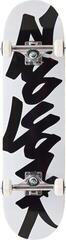 Zoo York Tag Skateboard Complete 8'' Black/White