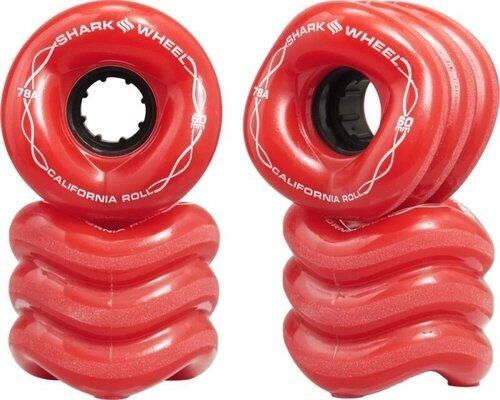 Shark Wheel California Roll Wheels 60mm Red