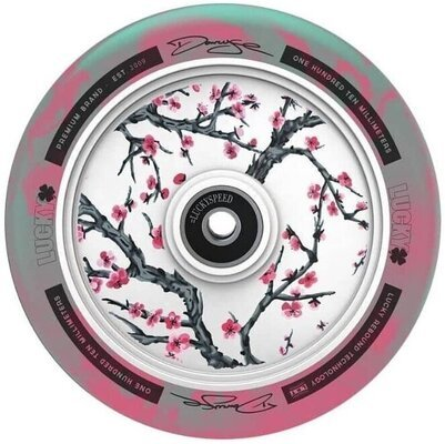 Lucky Darcy Cherry-Evans 100mm Wheel Teal/Pink/White