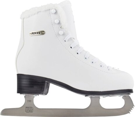 Roces Paradise Eco-Fur Figure Skates White 36