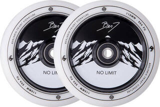 Striker Benj No Limit 110mm Wheel Set White/Black