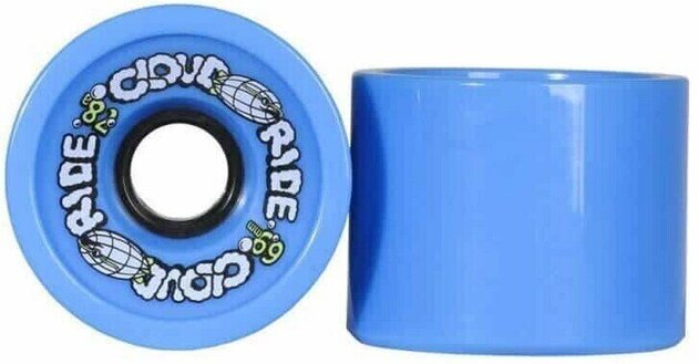 Cloud Ride Cruiser Wheels 69mm Blue