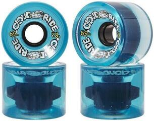 Cloud Ride Cruiser Wheels 69mm Clear Blue