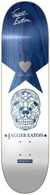 Heart Supply Jagger Eaton Signature Skateboard Deck 8,25'' Blue