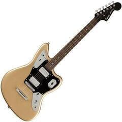 Fender Squier Contemporary Jaguar HH ST LRL Black Pickguard Shoreline Gold