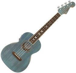 Fender Dhani Harrison Uke WN Ukulele tenorowe Turquoise