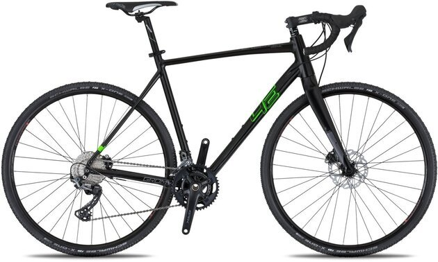 4Ever Gromvel Race Black/Metallic Green 52cm 2021