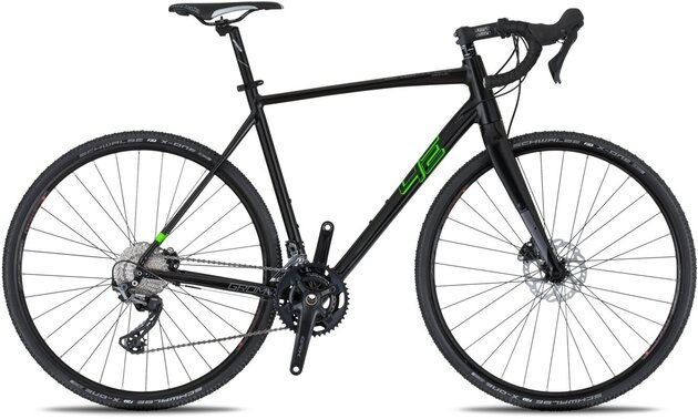 4Ever Gromvel Race Black/Metallic Green 58cm 2021